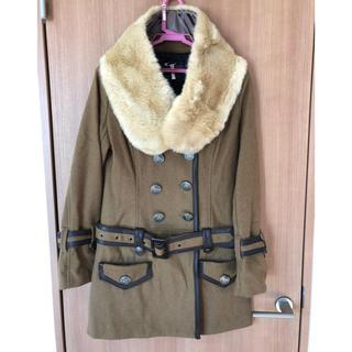 セシルマクビー(CECIL McBEE)のコート ファー付き セシルマクビー(毛皮/ファーコート)