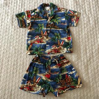 コドモビームス(こどもビームス)の80 アロハシャツ セットアップ(シャツ/カットソー)