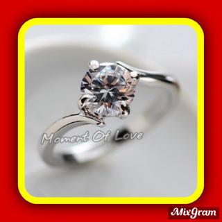 スワロフスキー(SWAROVSKI)の✨定価9600円✨★SWAROVSKI★ピンキー K18金RGP 指輪 リング(リング(指輪))