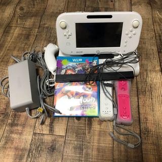 Wii U - WiiU 白 箱なし 付属品多数!