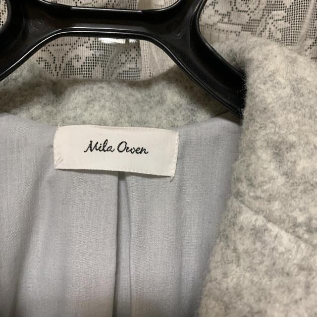Mila Owen(ミラオーウェン)の専用 レディースのジャケット/アウター(ロングコート)の商品写真