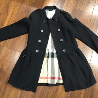 BURBERRY - 週末限定値下】バーバリー 14y  美品 コート pコート 150 160