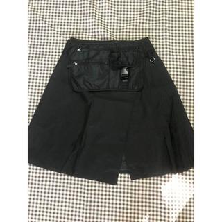 プラダ(PRADA)のPRADA プリーツスカート(ひざ丈スカート)