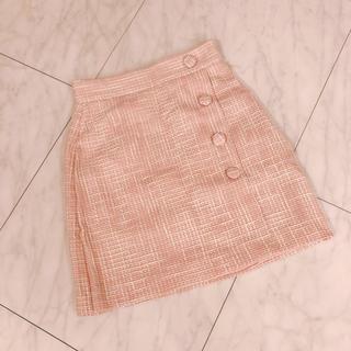 ティティアンドコー(titty&co)のディティアンドコー ツイード スカート (ひざ丈スカート)