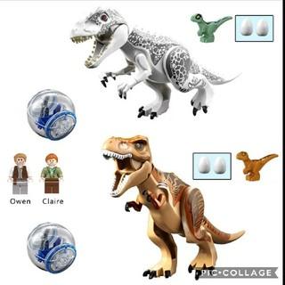 レゴ互換 ジュラシックワールドセット 恐竜セット