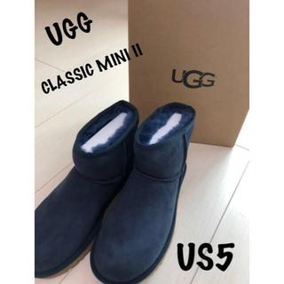 アグ(UGG)の限定お値下げ!正規品UGG アグ クラッシックミニ US5 22cm(ブーツ)