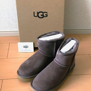 UGG - クラシックミニⅡ 最新モデル ストーミーグレー ☆新品☆