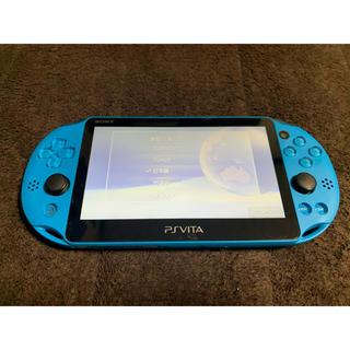 PlayStation Vita - vita アクアブルー  送料無料 ①