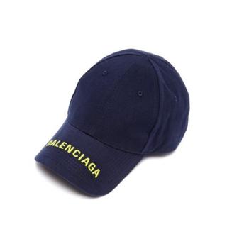 バレンシアガ(Balenciaga)のバレンシアガ balenciaga バイザー ロゴ キャップL59(キャップ)