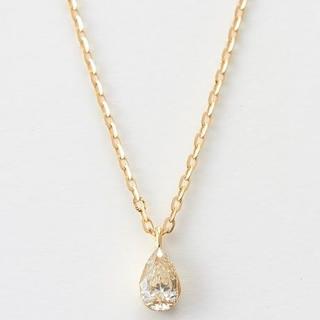 アガット(agete)のagete K18 ダイヤモンド ネックレス ¥57,200(ネックレス)