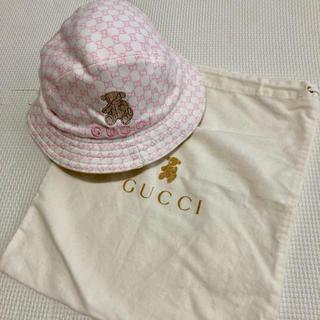 グッチ(Gucci)のGUCCI 帽子 ベビー(帽子)