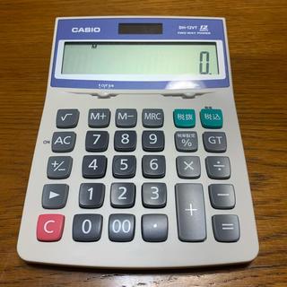 カシオ(CASIO)のCASIO 電卓 DH-12VT(オフィス用品一般)