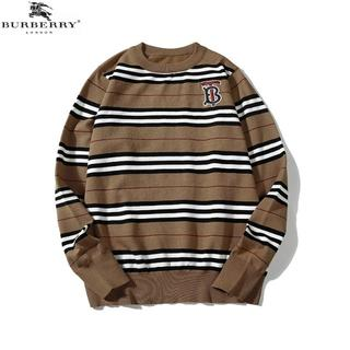 BURBERRY - [2枚10000円送料込]burberryバーバリー丸襟ニットセーター