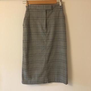 Mila Owen - ミラオーウェン チェックタイトスカート