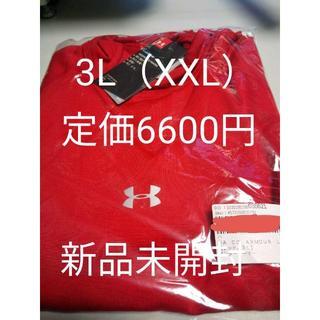 アンダーアーマー(UNDER ARMOUR)のアンダーアーマー コールドギア 3L XXL レッド(Tシャツ/カットソー(七分/長袖))