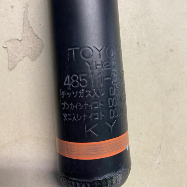 トヨタ(トヨタ)のハイエース 純正ショック 自動車/バイクの自動車(車種別パーツ)の商品写真