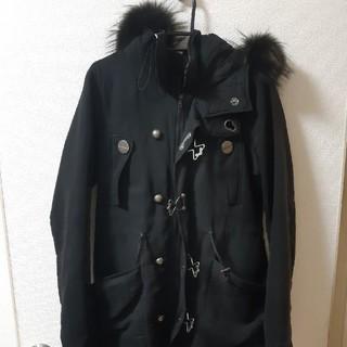 スライ(SLY)のスライ SLY モッズコート 黒 コート ミリタリー ジャケット(モッズコート)