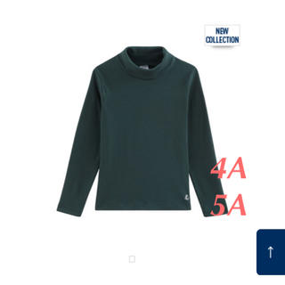 プチバトー(PETIT BATEAU)のプチバトー  2019AW タートルネック長袖Tシャツ(Tシャツ/カットソー)