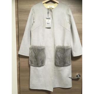 ルネ(René)の新品 René ルネ 定価20万 ポケットファーコート(毛皮/ファーコート)