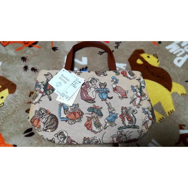 大和屋(ヤマトヤ)のヤマト屋 ピーターラビット ハンドバッグ レディースのバッグ(ハンドバッグ)の商品写真