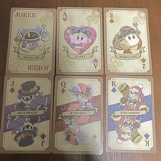 ニンテンドウ(任天堂)のカービィ カード(キャラクターグッズ)