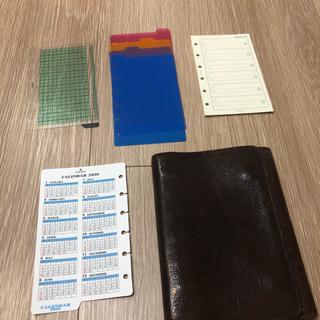 イルビゾンテ(IL BISONTE)のイルビゾンテ  システム手帳 おまけ追加(手帳)
