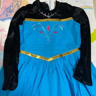 アナトユキノジョオウ(アナと雪の女王)のDisney アナと雪の女王 コスプレ衣装  子供用(衣装)