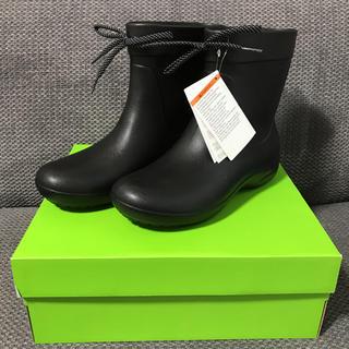 クロックス(crocs)のクロックス レインブーツ W7  23㎝ ブラック(レインブーツ/長靴)
