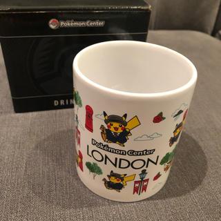 ポケモン(ポケモン)のポケモンセンター ロンドン限定 ピカチュウ マグカップ(グラス/カップ)