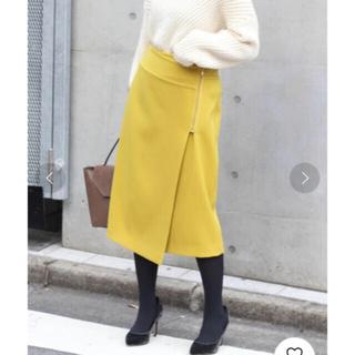 Noble - T/Wダブルクロスラップスカート◆ サイズ34  週末SALE