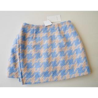 リエンダ(rienda)の新品 ◆7,250円+税 リエンダ  ミニスカート風パンツ(ショートパンツ)