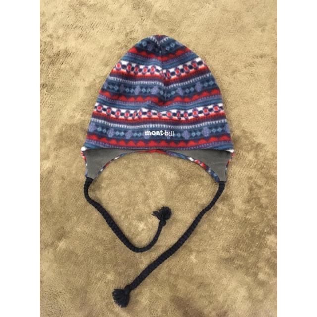 mont bell(モンベル)のモンベル フリース 耳当てつき ニット帽 レディースの帽子(ニット帽/ビーニー)の商品写真
