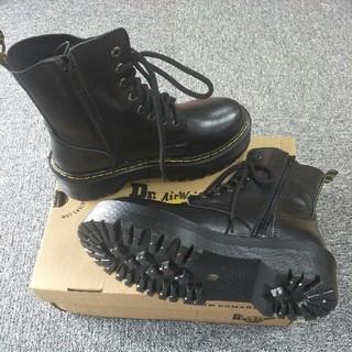 ドクターマーチン(Dr.Martens)のUK6ドクターマーチン Dr.Martens 新品 厚底ブーツ 革靴 正規品(ブーツ)