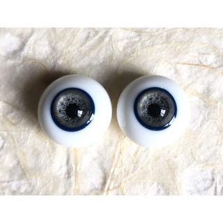 ボークス(VOLKS)の最終価格 月の鏡 グラスアイ Bグレード 黒系特殊虹彩 16mm(人形)