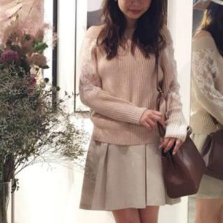 ♡ホワイト ツイードスカート♡