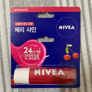 ニベア - 新品未使用 韓国限定 NIVEA ニベア リップクリーム チェリー