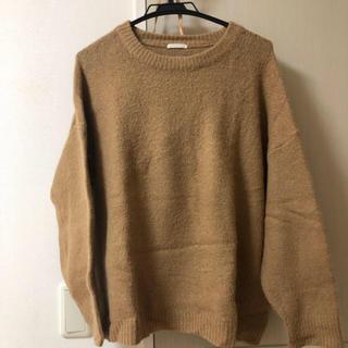 GU - GU ニット セーター キャメル