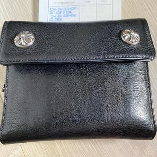 クロムハーツ(Chrome Hearts)のクロムハーツ サイフ ウォレット 美品(折り財布)