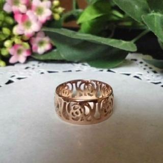 お値下げ ファッションリング 指輪 14号 ピンクゴールド(リング(指輪))