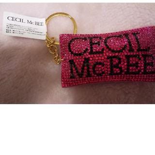 セシルマクビー(CECIL McBEE)のCECIL McBEEのキラキラキーチェーン(キーホルダー)