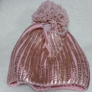 ギャップ(GAP)のGAP ニット帽 新品 ピンク(帽子)
