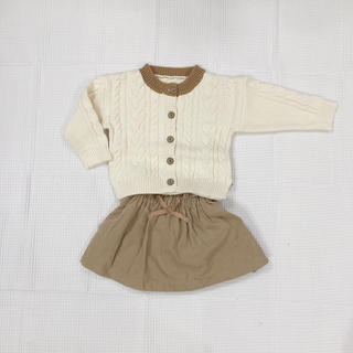 プティマイン(petit main)の【ラスト1点】韓国子供服 カーディガン(カーディガン)