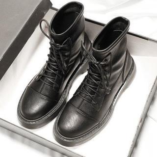 美脚 欧風 新作 レディース マーティンブーツ   靴    (ブーツ)