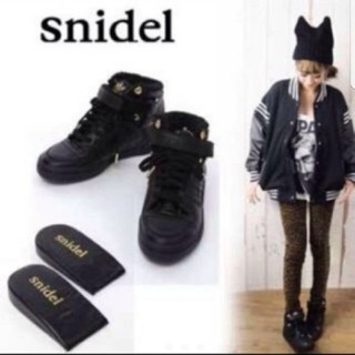 snidel - snidel adidas コラボ インソール スニーカー