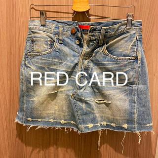 Ron Herman - RED CARDレッドカード デニムスカート