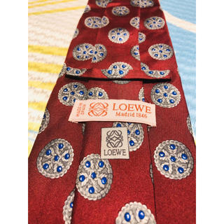 LOEWE - 2点購入で1点プレゼント!Loewe ロエベ ネクタイ a309