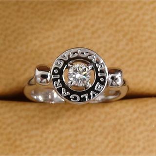 ブルガリ(BVLGARI)のブルガリ ダイヤのフリップリング   (リング(指輪))