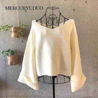MERCURYDUO - 【美品】 MERCURYDUO マーキュリーデュオ ニット
