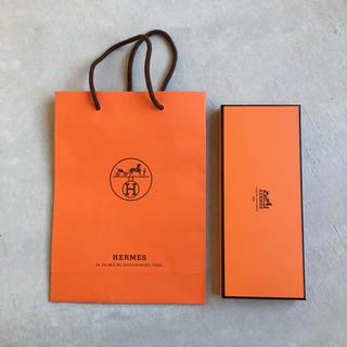 エルメス(Hermes)の【かっちゃん様専用】HERMES エルメス ショッパー・空箱・リボン(ショップ袋)
