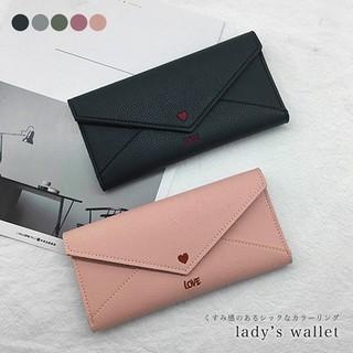 長財布 レディース財布 レター型長財布 ロングウォレット 財布  (財布)